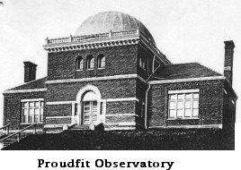 Proudfit Observatory